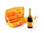 Moded EVA champagne tote carrier bag koozies