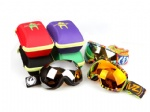 various Ski Goggle Cases/ Carriers/ Holders/ Protectors